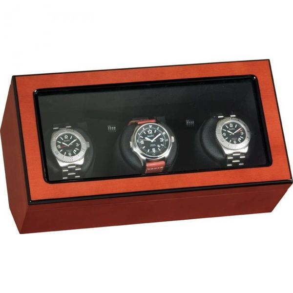 Кутия за самонавиващи се часовници Beco Technic BECO ATLANTIC Watchwinder For 3 Watches